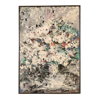 Harold Frank Untitled Abstract Oil Painting, 1964 For Sale