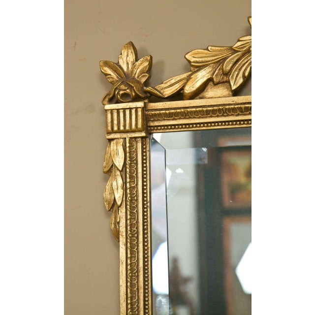1950s Neoclassical Style Giltwood Mirrors - A Pair For Sale - Image 5 of 7