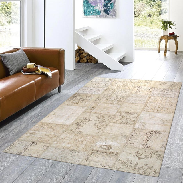 "Pasargad Patchwork Collection Rug- 5' 1"" X 8' - Image 3 of 3"