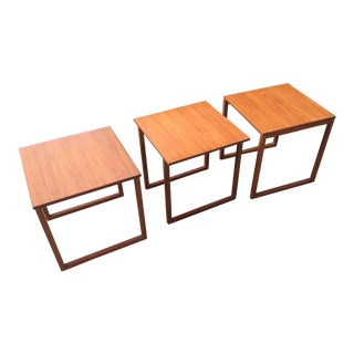 Danish Kai Kristensen Attributed Nesting Cubes - Set of 3 For Sale