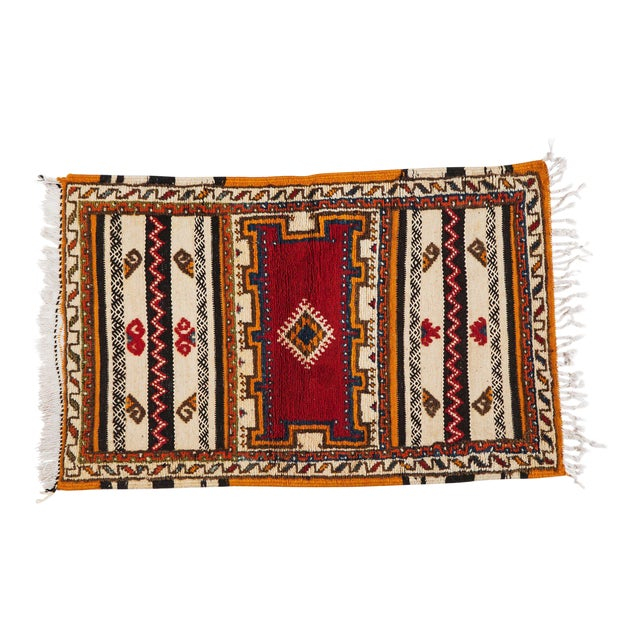 "Moroccan Berber Rug-2'1'x3'4"" For Sale"