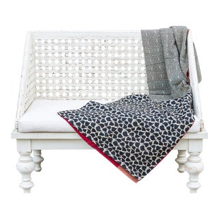 Jani Bengal Kantha Throw For Sale