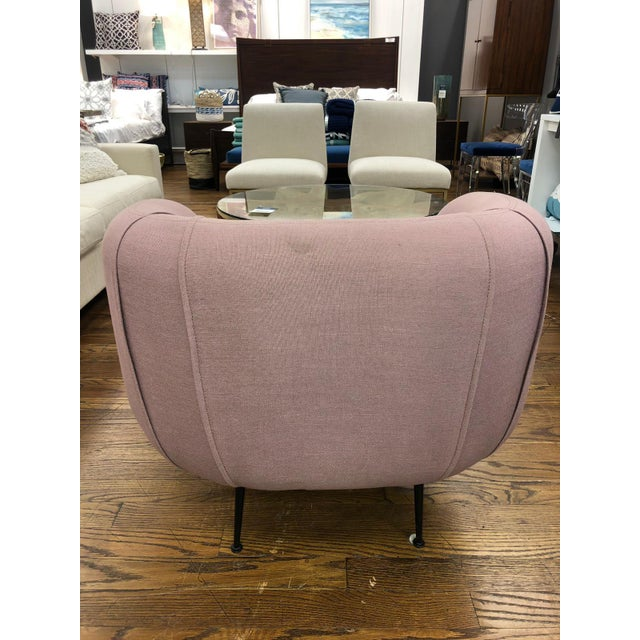 Modern Sepli Lavender Chair For Sale In New York - Image 6 of 7