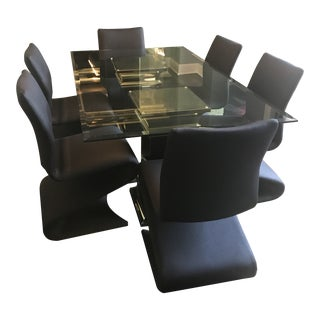 "Contemporary ""Ello"" Fine Furniture Dining Room Set For Sale"