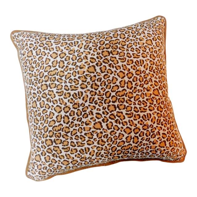 Modern Cheetah Print Pillow For Sale