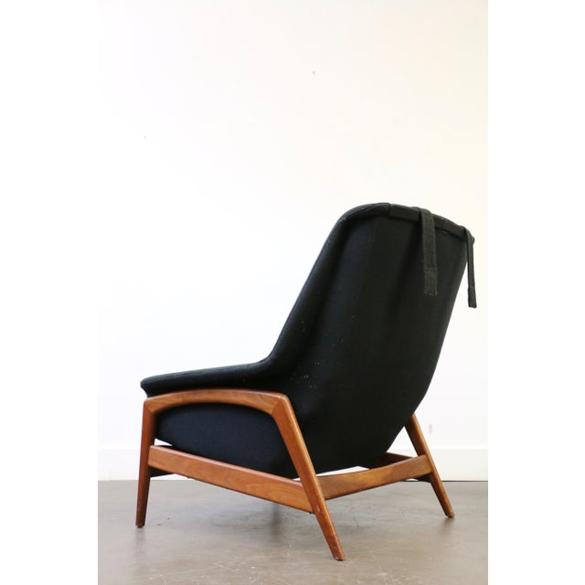 DUX Folke Ohlsson for Dux Lounge Chair & Ottoman For Sale - Image 4 of 13