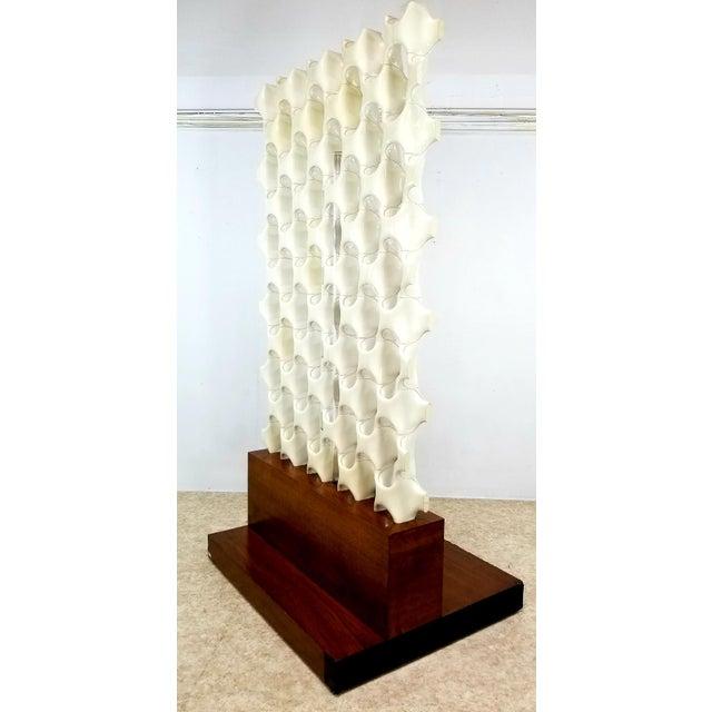 1960s 1960s Mid Century Richard Harvey Contemporary 'Sculpta-Bone Grille' Screen For Sale - Image 5 of 13