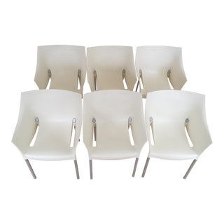 Modern Dr. No Kartell Chairs - Set of 6 For Sale