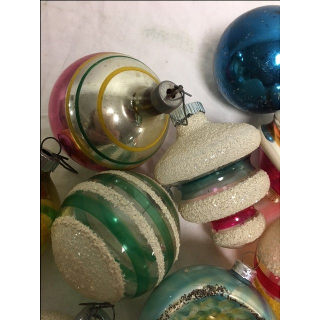 Vintage Assorted Christmas Ornaments - Set of 12 - Image 7 of 8