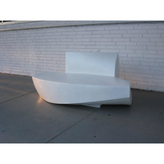 Frank Gehry Molded Plastic Sofa - Image 2 of 6