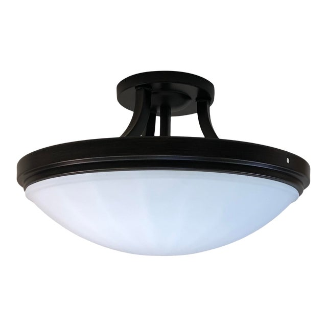 Feiss 2-Light Perry Semi-Flush Mount For Sale
