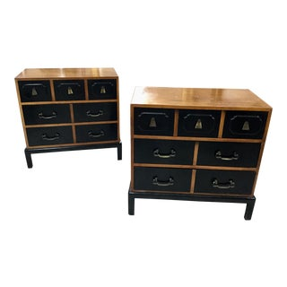 Mid-Century Stradford House Chests - a Pair