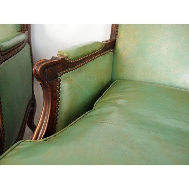 Louis XV Style Bergères - A Pair - Image 5 of 6