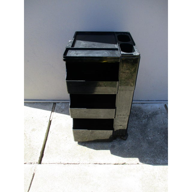 Joe Colombo Mid-Century Italian Black Boby Cart - Image 2 of 11