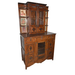 Spanish Colonial Eclectic Antique Curio Cabinet/Armoire Preview