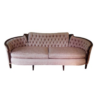 Victorian French Style Blush Pink Sofa