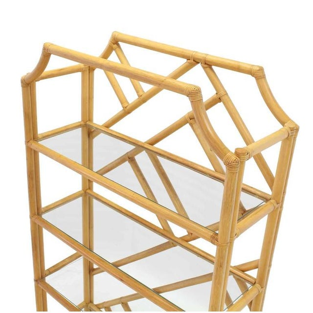 Large Rattan Shelf For Sale In New York - Image 6 of 8