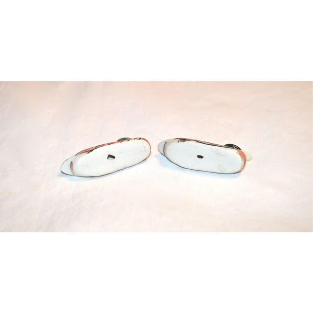 1970s Porcelain Duck Knife Rests - A Pair For Sale - Image 5 of 8