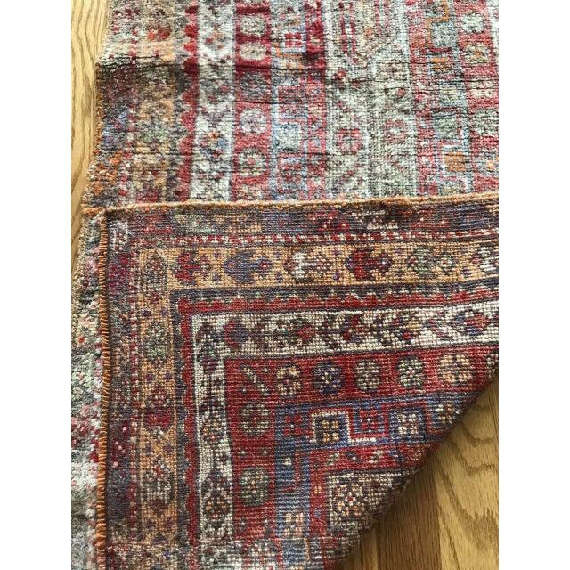"""Bellwether Rugs Vintage Oushak """"Vega"""" Rug - 1'11"""" X 4'9"""" For Sale - Image 5 of 6"""