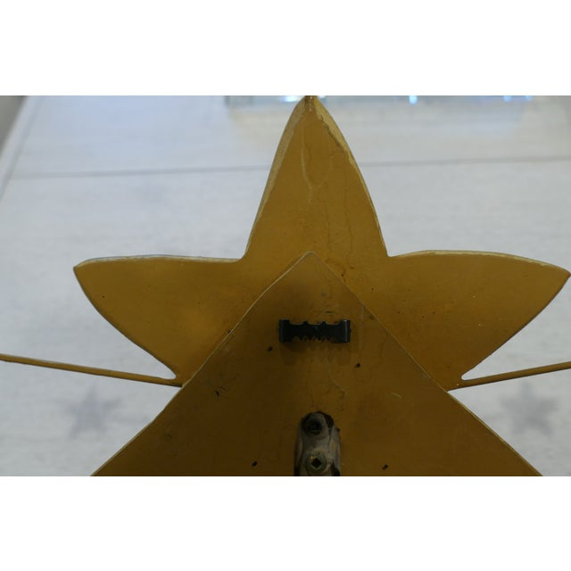 Contemporary Carvers' Guild Shooting Star Candle Sconce For Sale - Image 3 of 8