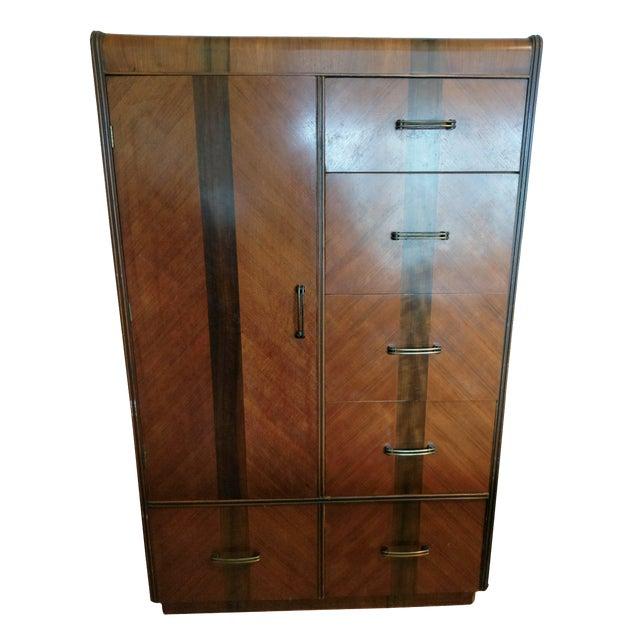 Vintage Wardrobe Chifferobe & Dresser - Image 1 of 9
