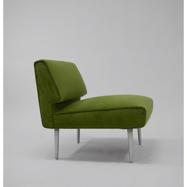 Pair of Lounge Chairs by Edward Wormley for Dunbar - Image 2 of 11