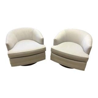 Mid Century Modern Milo Baughman Style Chairs - 2