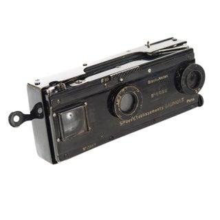 Vintage Gaumont Paris Stereo Camera C. 1900s For Sale