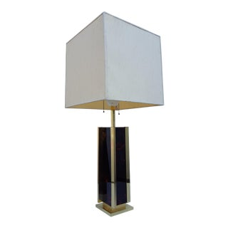 Italy 1970's Gaetano Sciolari Table Lamp