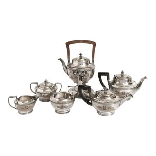 Bailey Banks Biddle Silver Service,6 Pieces For Sale
