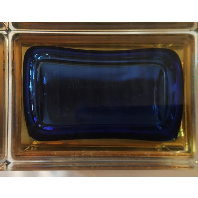 Murano Glass Sommerso 1960s Sommerso Murano Glass Jewelry Box For Sale - Image 4 of 7