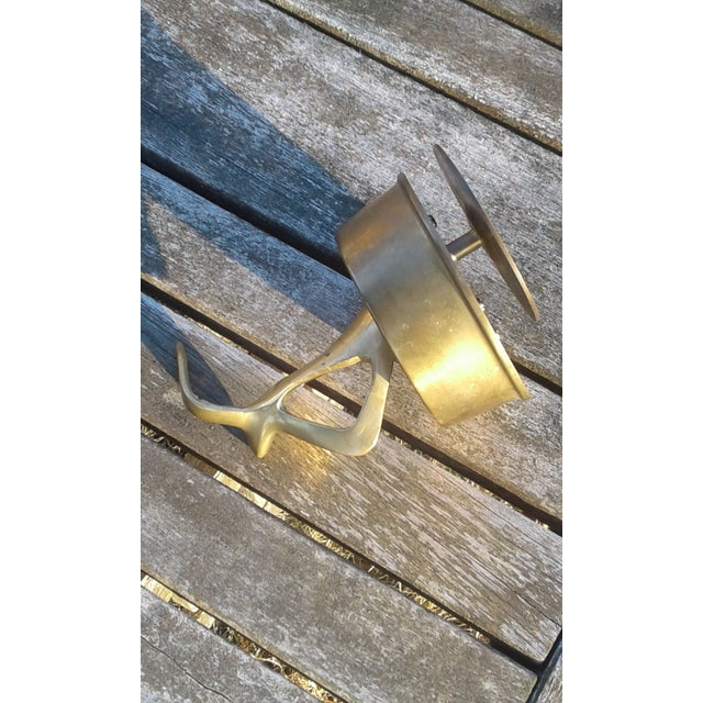 Mid Century Solid Brass Seagull Music Box - Image 6 of 6