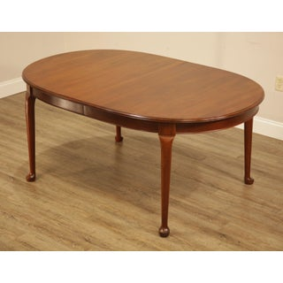 Pennsylvania House Vintage Solid Cherry Wood Oval Dining Table Preview