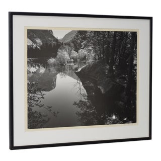 Robert Werling Merced River Yosemite Black & White Photograph
