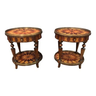 Traditional Century Hawkes Nest Occasional Lamp Tables - a Pair For Sale