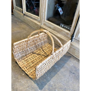 French Baguette Boulangerie Wicker Basket Preview