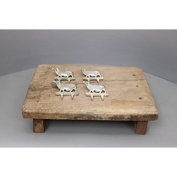 Mid 20th Century Antique French Rustic Cheese Set For Sale - Image 5 of 5