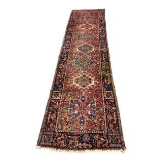 Vintage Moorish Rug Runner from Eastern Turkey For Sale