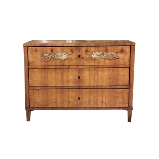 Neoclassical Three Drawer Commode For Sale