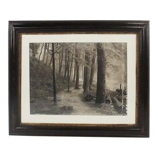 "1980s Frank Hunter ""Passage"" Platinum Palladium Print For Sale"