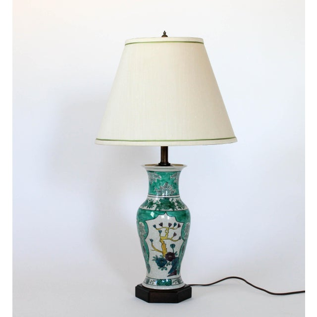 Hand Painted Table Lamp by Frederick Cooper For Sale - Image 10 of 11