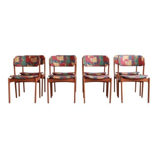 1960s Vintage Danish Teak Chairs- Set of 8 For Sale