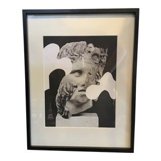 Michael Hentz Contemporary Framed Collage Print For Sale