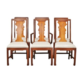Ming Style Dining Chairs by Bassett Furniture Company, Set of 6
