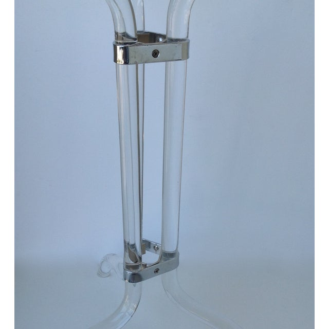 Dorothy Thorpe Lucite Champagne / Wine Holder For Sale In West Palm - Image 6 of 11