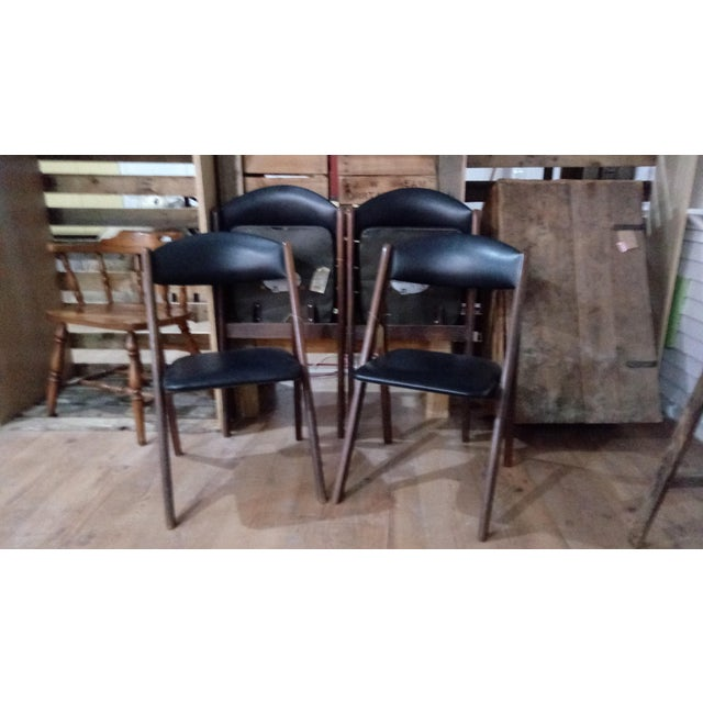1960s Mid-Century Modern Stakmore Folding Chairs - Set of 4 For Sale In Charleston - Image 6 of 6