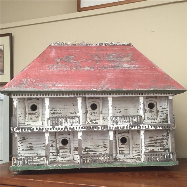 Folk Art Bird House - Image 2 of 6