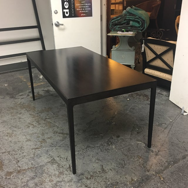 Contemporary Design Within Reach Anna Dining Table For Sale - Image 3 of 6