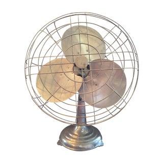 Vintage Large Metal Fan For Sale