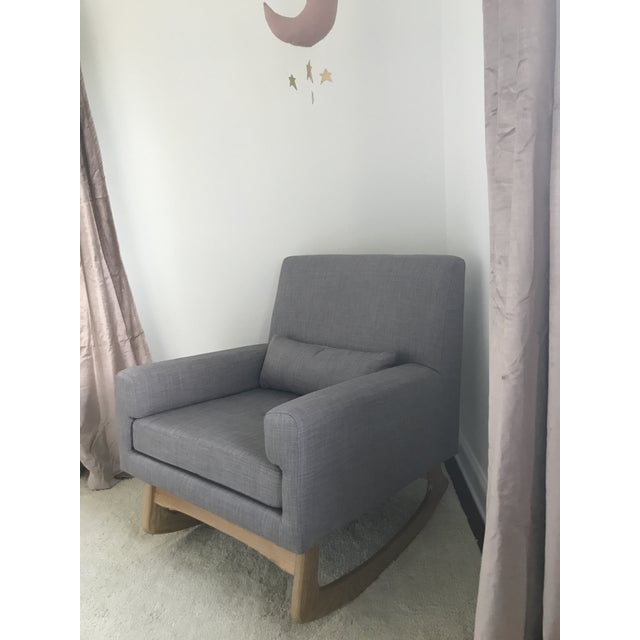 We love this rocker and it is super comfortable but we bought it when our daughter was a few months old right when we...